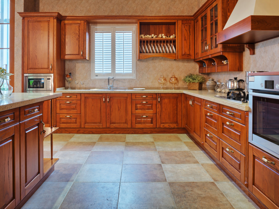 For all your wood cabinet refacing needs, we've got you covered